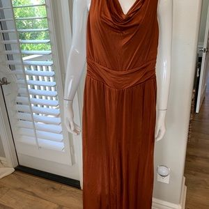 NWT Anthropologie Copper Jumpsuit - Size XS